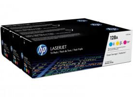 Toner HP CF371AM, pachet triplu CE321A/CE322A/CE323A,
