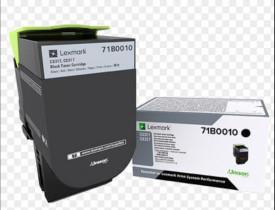 Toner Lexmark 71B0010, black ,return program ,3k, pentru CX317DN,CS317DN
