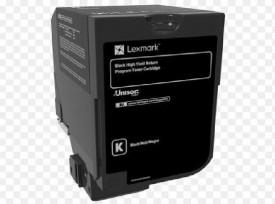 Toner Lexmark 84C2HK0, return program, black, 25k ,compatibil cuCX725DE, CX725DHE, CX725DTHE.