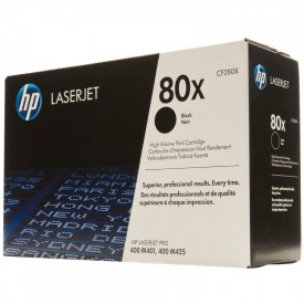 Toner NR.80X CF280X 6,9K ORIGINAL HP LASERJET PRO 400 M401A,LaserJet Pro 400 M401D, LaserJet Pro 400 M401DN, LaserJet Pro 400M401DNE, LaserJet Pro 400 M401DW, LaserJet Pro 400 M425DN, LaserJet Pro400 M425DW.