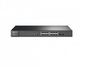 TP-Link JetStream 16-Port Gigabit L2 Managed Switch with 2 SFP Slots, T2600G-18TS, IEEE 802.3i, IEEE 802.3u, IEEE 802.3ab, IEEE802.3z, IEEE 802.3ad, IEEE 802.3x, IEEE 802.1d, IEEE 802.1s, IEEE 802.1w, IEEE 802.1q, IEEE 802.1x, IEEE 802.1p, 16* 10/100/1000