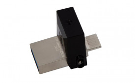 USB Flash Drive Kingston 64GB DT MicroDuo, USB 3.0, micro USB OTG