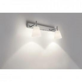 Aplica pentru baie Philips Hydrate, G9, 40W, lumina calda 2800K, Crom, 2x surse de iluminare, montare pe perete