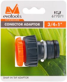 """Conector Adaptor 1"""" ETS / D[inch]: 3/4 - 1"""