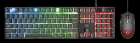 Kit Tastatura + Mouse Trust GXT 838 Azor Gaming Combo, negru