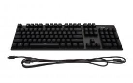 Tastatura Kingston HyperX Alloy FPS, Fir detasabil, Iluminata, Cherry MX Red, neagra