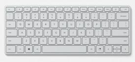 Tastatura Microsoft Designer Compact, Bluetooth 5.0, wireless, Glacier