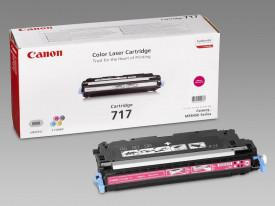 Toner Canon CRG717M, magenta, capacitate 4000 pagini, pentru MF8450, 9130, 9170