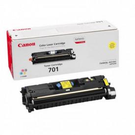 Toner Canon EP-701LY, light yellow, capacitate 2000 pagini, pentru LBP-5200