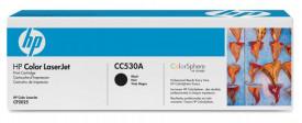 Toner HP CC530A, black, 3.5 k, Color LaserJet CM2320FXIMFP, ColorLaserJet CM2320NFMFP, Color LaserJet CP2025, Color LaserJet CP2025D N,Color LaserJet CP2025N