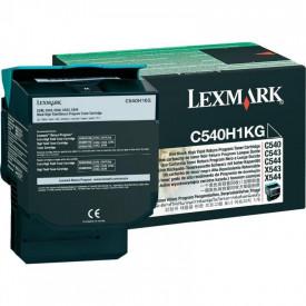 Toner Lexmark C540H1KG, black, 2.5 k, C540n , C543dn , C544dn ,C544dtn , C544dw , C544n , C546dtn , X543dn , X544dn , X544dtn , X544dw, X544n , X546dtn , X548de , X548de Statoil , X548dte