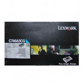 Toner Lexmark C746A3CG, cyan, 7 k, C746dn , C746dtn , C746n ,C748de , C748dte , C748e