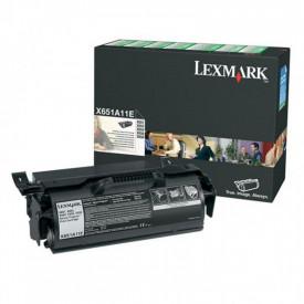 Toner Lexmark X651A11E, black, 7 k, X651de , X652de , X654de ,X654de Statoil , X656de , X656dte , X658dfe , X658dme , X658dtfe ,X658dtme
