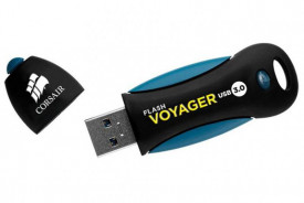 USB Flash Drive Corsair, 64GB, Voyager, USB 3.0, read-write: 190MBs, 55MBs
