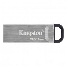 USB Flash Drive Kingston, DataTraveler Kyson, 128GB, USB 3.2, metalic