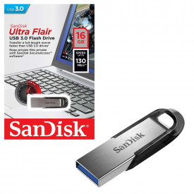 USB Flash Drive SanDisk Ultra Flair, 16GB, 3.0, Reading speed: up to 150MB/s