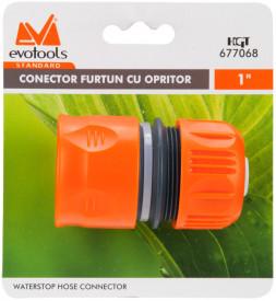 """Conector Furtun cu Opritor 1"""" ETS / D[inch]: 1"""