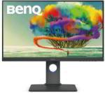 "Monitor 27"" Benq PD2700U, IPS, 16:9, 4K UHD 3840x2160, LED, 5 ms, 350 cd/m2, 178/178, 60 Hz, 1300:1, Flicker free, Low Blue Light, Brightness Intelligence, HDMI, DP, mini DP, 6*USB, headphone jack, anti-glare, CAD/CAM mode, Auto Pivot, speakers 2*2W, VESA"