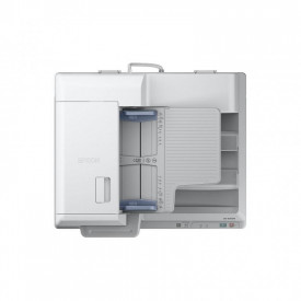 Scanner Epson DS-60000, dimensiune A3, tip flatbed, viteza scanare: 40ppm alb-negru si color, rezolutie optica 600x600dpi, ADF 200 pagini, Scan to Email, Scan to FTP, Scan to Microsoft SharePoint, Scan to Print, Scan to Web folders, Scan to Network folder