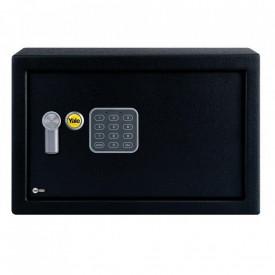 Seif Yale Standard Rezidential YSV/250; Alcatuit din otel; Tastatura digitala programabila si usor de operat; Prevazut cu orificii pentru fixare si bolturi de prindere incluse; Ideal pentru pastrarea documentelor importante sau a cheilor intr-un loc sigur