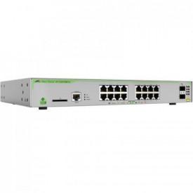 Switch ALLIED TELESIS GS970 16 porturi Gigabit 2 porturi SFP rackabil Layer 3