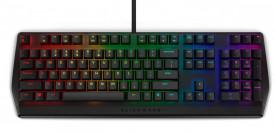Tastatura Dell Alienware AW410K, RGB, neagra