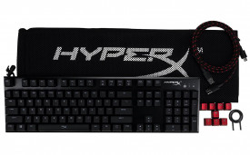 Tastatura Kingston HyperX Alloy FPS, Fir detasabil, Iluminata, Cherry MX Blue, neagra