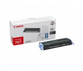 Toner Canon CRG707BK, black, capacitate 2500 pagini, pentru LBP-5000
