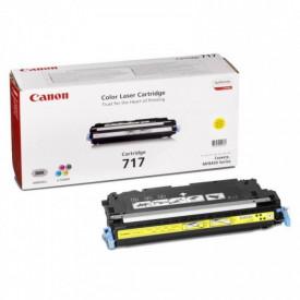 Toner Canon CRG717Y, yellow, capacitate 4000 pagini, pentru MF8450, 9130, 9170
