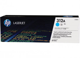 Toner HP CF381A, cyan, 2,7k, HP Laserjet Pro M476NW, HP LaserJetPro MFP M476DN, LaserJet Pro MFP M476DW, Nr.312