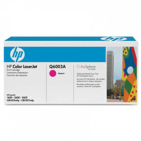 Toner HP Q6003A, magenta, 2 k, Color LaserJet 1600, ColorLaserJet 2600N, Color LaserJet 2605, Color LaserJet 2605DN, ColorLaserJet 2605DTN, Color LaserJet CM1015 MFP, Color LaserJet CM1017 MFP