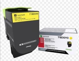 Toner Lexmark 71B0040, galben ,2.3k, pentru CX317DN,CS317DN
