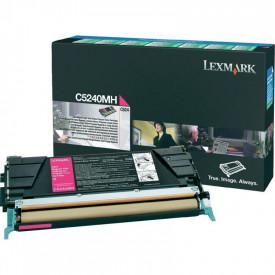 Toner Lexmark C5240MH, magenta, 5 k, C524 , C524dn , C524dtn ,C524n , C532dn , C532n , C534dn , C534dtn , C534n