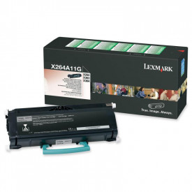 Toner Lexmark X463A11G, black, 3.5 k, X463de , X464de , X466de ,X466dte , X466dwe