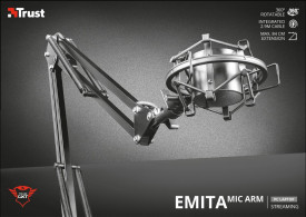 Brat Microfon Trust GXT 253 Emita Streaming Microphone Arm