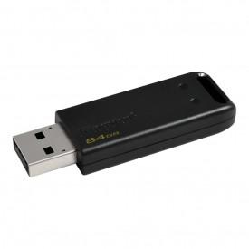 Kingston USB Flash Drive DataTraveler® 20, 64GB, USB 2.0, Negru