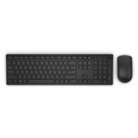 Kit tastatura si mouse Dell KM636, Wireless, negru