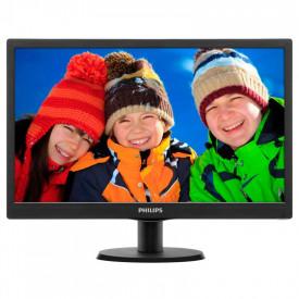 "Monitor 19.5"" PHILIPS 203V5LSB26, 1600*900, TN, 16:9, WLED, 5 ms, 200cd/m2, 90/50, 600:1, D-SUB, VESA, Kensington lock, Black"