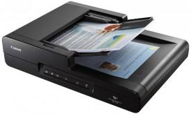 Scanner Canon DRF120, dimensiune A4, tip flatbed, viteza de scanare 20ppm alb-negru, 10ppm color, rezolutie optica 600dpi, senzor CIS, software inclus: Driver ISIS/TWAIN, CaptureOnTouch, interfata: USB 2.0, ADF 50 coli.