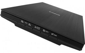 Scanner Canon Lide 400, dimensiune A4, tip flatbed, viteza scanare A4 8 sec (300dpi), rezolutie optica 4800 x 4800dpi, senzor CIS, 5 butoane (PDF x 2, SCANARE AUTOMATÄ', COPIERE, TRIMITERE), interfata:USB de tip C (compatibil cu USB 3.0 ÅŸi 2.0), alimenta