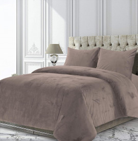 Set Cuvertura Heinner catifea King Size Candy