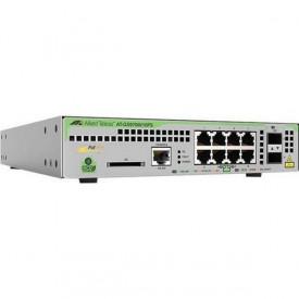 Switch ALLIED TELESIS GS970 8 porturi Gigabit 2 porturi SFP rackabil Layer 3
