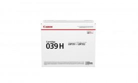 Toner Canon CRG039H, high capacity , black, capacitate 25k pagini, pentru LBP352X, LBP351X.