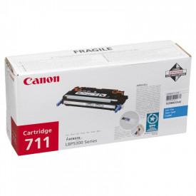 Toner Canon CRG711C, cyan, capacitate 6000 pagini, pentru LBP-5300, LBP5360