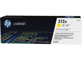 Toner HP CF382A, yellow, 2,7k, HP Laserjet Pro M476NW, HPLaserJet Pro MFP M476DN, LaserJet Pro MFP M476DW, Nr.312