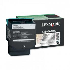 Toner Lexmark C540A1KG, black, 1 k, C540n , C543dn , C544dn ,C544dtn , C544dw , C544n , C546dtn , X543dn , X544dn , X544dtn , X544dw, X544n , X546dtn , X548de , X548de Statoil , X548dte
