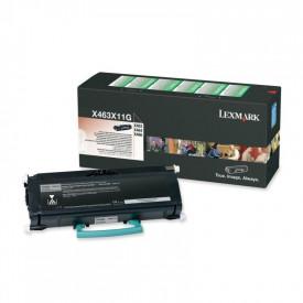 Toner Lexmark X463X11G, black, 15 k, X463de , X464de , X466de,X466dte , X466dwe