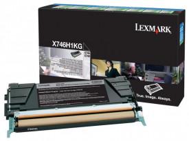 Toner Lexmark X746H1KG, black, 12 k, X746de , X748de , X748deStatoil , X748de with total 5 years warranty , X748dte