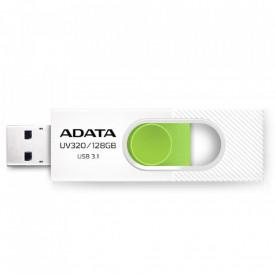 USB Flash Drive ADATA 32Gb, UV320, USB3.1, alb/verde