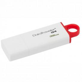USB Flash Drive Kingston 32 GB DataTraveler DTIG4, USB 3.0, white-red